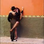 Tango Dancers in Streets of San Miguel De Allende