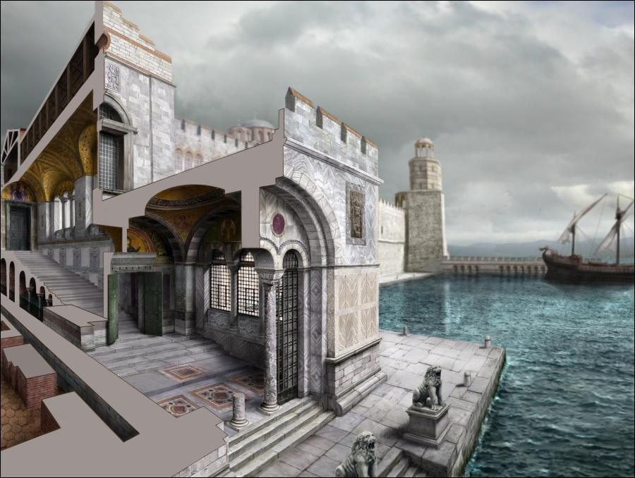 byzantine art and architecture in ancient istanbul made in atlantis