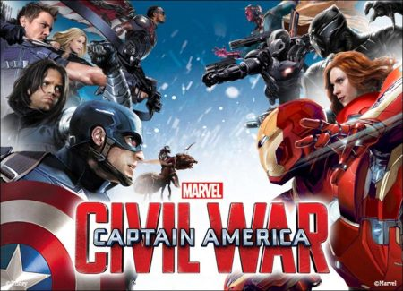 'Captain America: Civil War' dominated the foreign box office