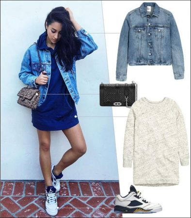 Shay Mitchell's Ed-inspired outfit is just plain cool