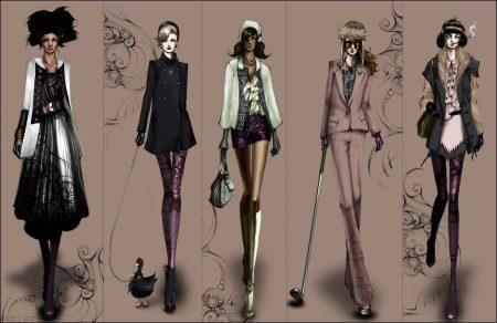 Fashion Illustration in Popular Culture