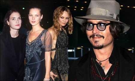 Johnny Depp's Romantic History: Amber Heard, Winona Ryder, Kate Moss, Vanessa Paradis, and More
