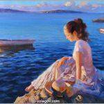 Sensible Women by the Russian Painter Vladimir Volegov