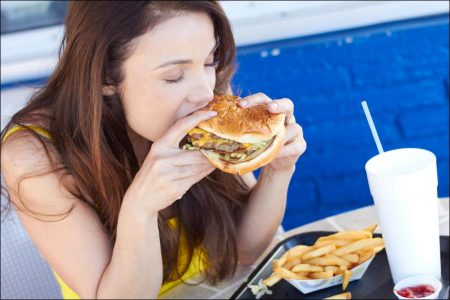 How much exercise offsets a burger?