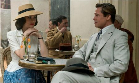 Brad Pitt and Marion Cotillard Goes to Casablanca
