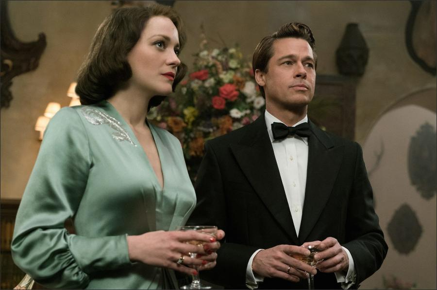 Brad Pitt And Marion Cotillard Goes To Casablanca Made In Atlantis