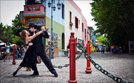 Living in Buenos Aires with tango