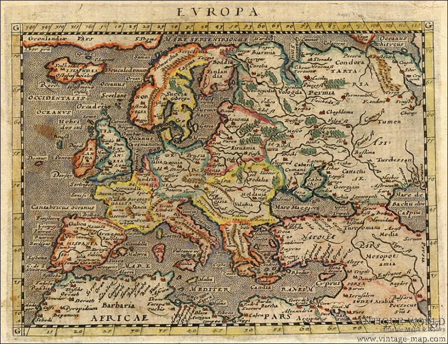The World S Oldest Medieval Map Made In Atlantis