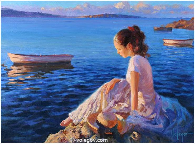 Sensible Women by the Russian Painter Vladimir Volegov | Made in ...